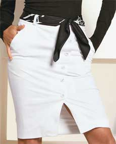 юбка с боковыми карманами