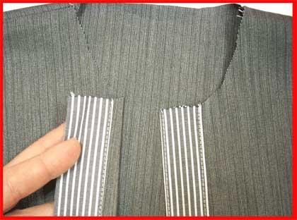 Планки в готовом виде в изделии