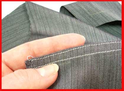 Как стачать плечевые швы рубашки