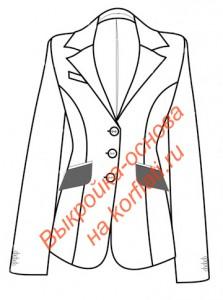 Выкройка женского пиджака
