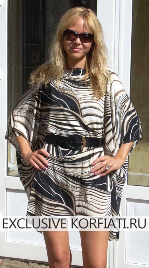 Платье балахон (свободного кроя)