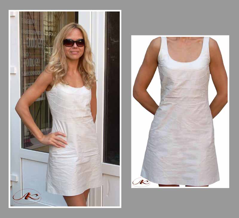 Выкройки летних платьев тренд 2011 - Все