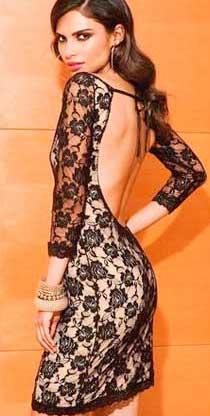 Сшить из ткани кружево платье