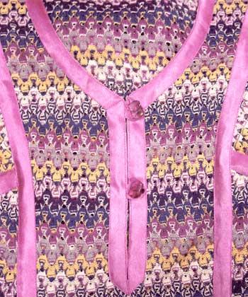 Фотография декорирование одежды косыми бейками