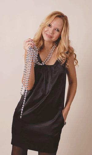 Выкройка шелкового платья - фото