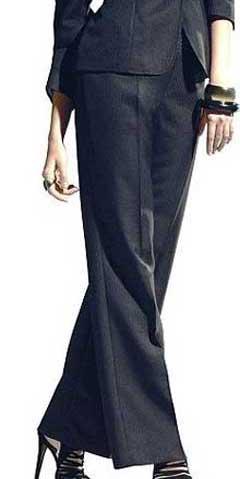 выкройка брюк со складками у пояса