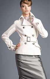 Как сшить короткое пальто