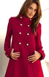 Как сшить красное пальто