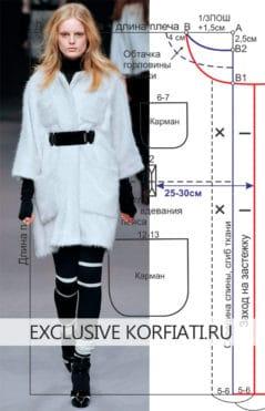 model-coat-poncho