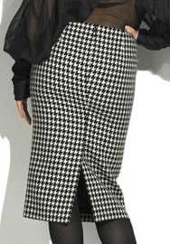 выкройка юбки со шлицей