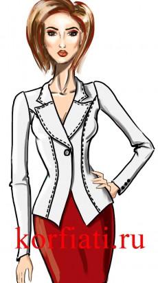 Моделирование одежды - воротники
