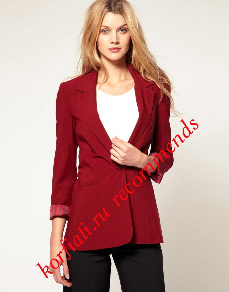 детали женского пиджака