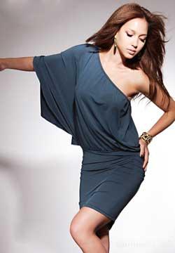сшить трикотажное платье для девочки своими руками - Выкройки одежды для...