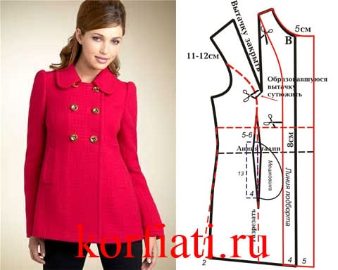 Pattern-coat-red
