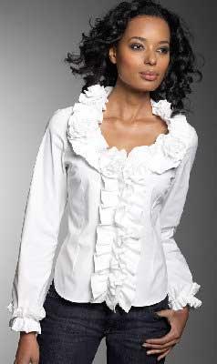 Выкройка блузки