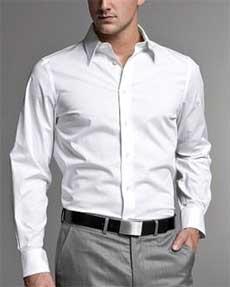 выкройка мужской приталенной рубашки