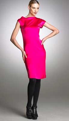 выкройка платья шелкового