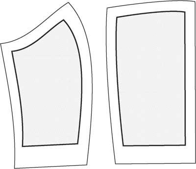 Как сшить корсет - разметка припусков