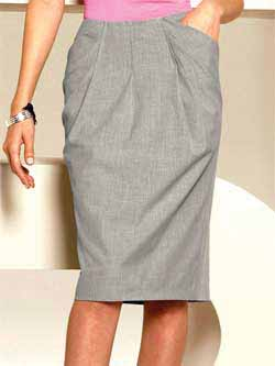 Шьем юбку с карманами