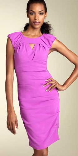 Это платье с завышенной талией