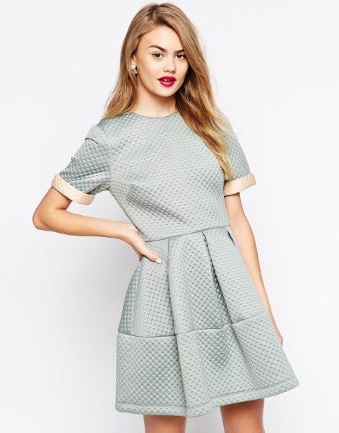 Выкройка платья из неопрена