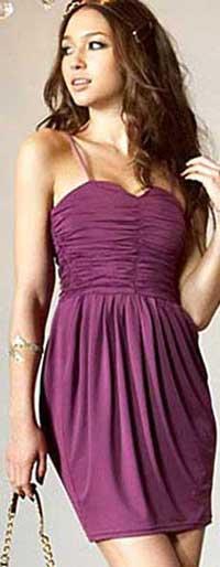 короткие платья на вечер