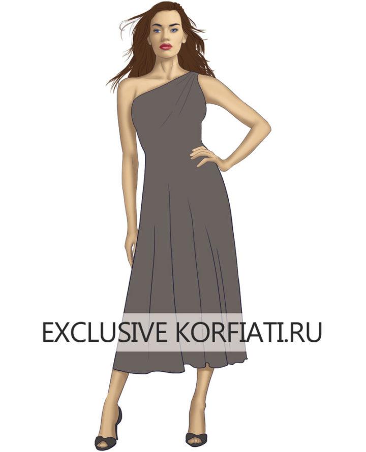Платье на нестандартную фигуру