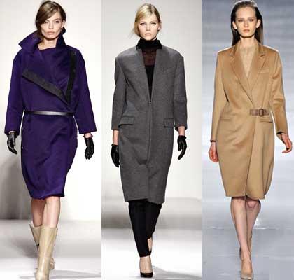 Разнообразные пальто на осень