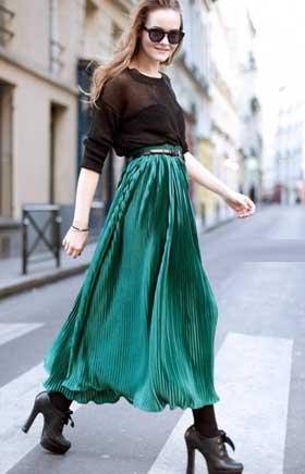 Длинные юбки модель 12