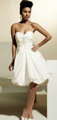Белое платье корсет