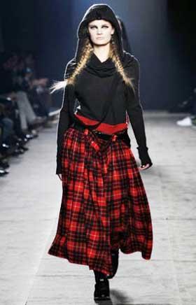 Пестрые длинные юбки