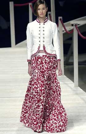 Длинные юбки модель 3