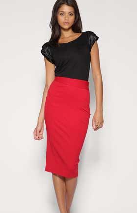 Длинные юбки модель 5