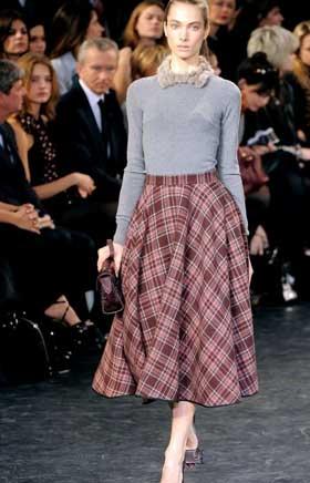 Длинные юбки модель 2