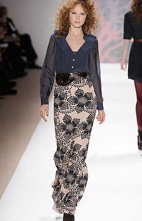 Длинные юбки модель 4