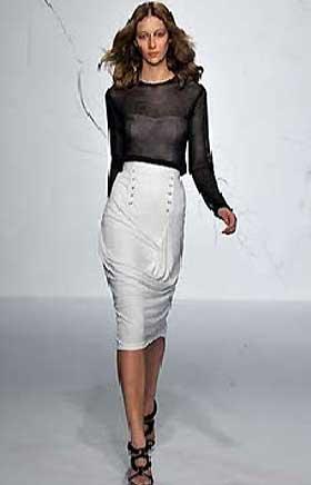 Длинные юбки модель 6