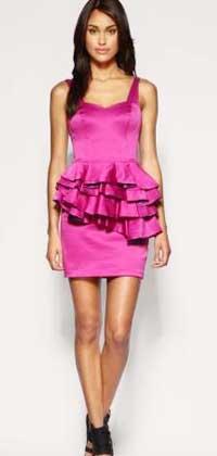 Розовое платье на выход
