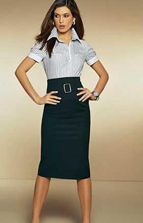 Длинные юбки модель 7