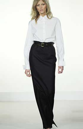 Длинные юбки модель 11