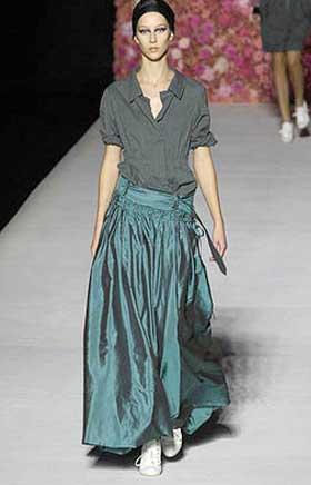 выкройка модной юбки в пол - Выкройки одежды для детей и взрослых