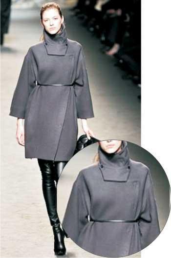 Футуристичное пальто