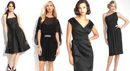 Выкройки маленького черного новогоднего платья