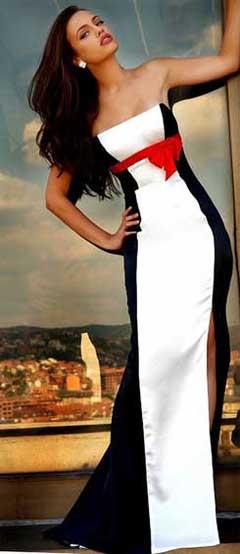 Выкройка платья для большого выхода