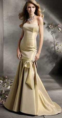 Выкройка золотого новогоднего платья