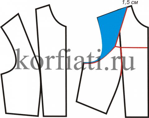 Выкройка платья для офиса