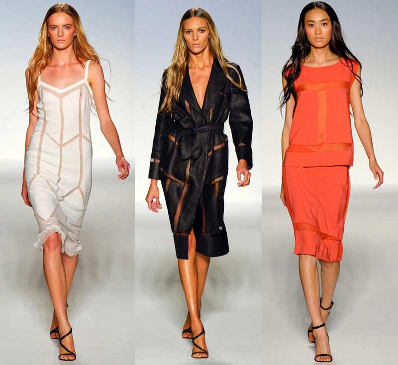 мода весна-лето 2012