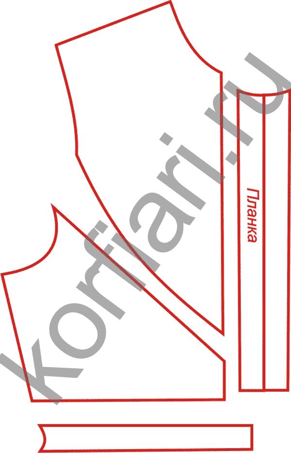 Схема вязания горловины для детей