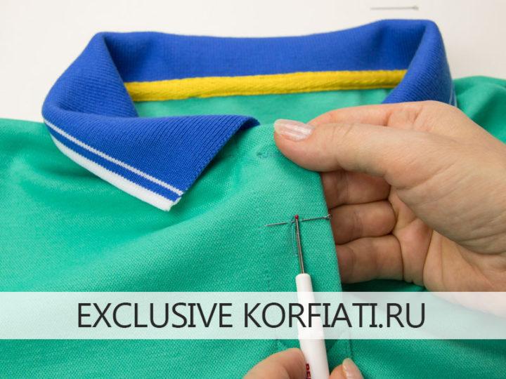 Выкройка футболки поло - мастер-класс по пошиву