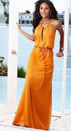 выкройка платья в пол