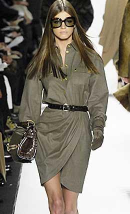 Выкройка платья в стиле милитари